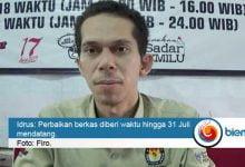 Photo of KPU Sebut Mayoritas Berkas Bacaleg Tak Lengkap
