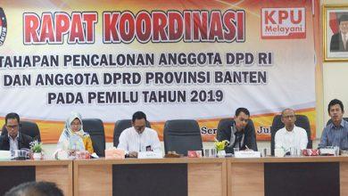 Photo of Belum Ada Pendaftar, KPU Banten Kembali Rakor Tahapan Pencalonan