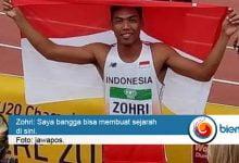 Photo of Zohri Beri Kejutan di Bidang Olahraga Lari Cepat 100 Meter