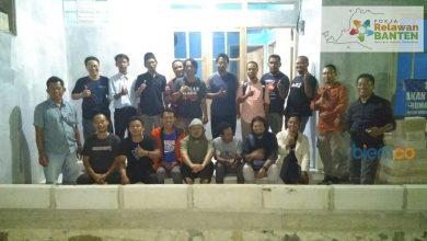 Photo of Puluhan Relawan Deklarasi Pokja Relawan Banten
