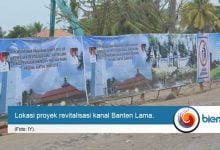 Photo of Lokasi Proyek Revitalisasi Kanal Banten Lama Sudah Steril