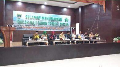 Photo of Calon Jamaah Haji yang Berangkat Melalui Embarkasi Padang pada 2018 Berjumlah 6.367