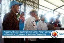 Photo of Tinjau Venue Asian Games, Gubernur Banten Sambangi Atlet Pelatnas