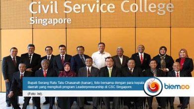 Photo of Bupati Serang Ikuti Leaderpreneurship di Singapura