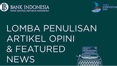 Photo of Ayo Ikuti! Bank Indonesia Gelar Lomba Penulisan Artikel