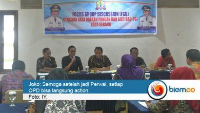 Photo of Menyoal Pangan dan Gizi, Bappeda Kota Serang Lakukan FGD Bersama OPD