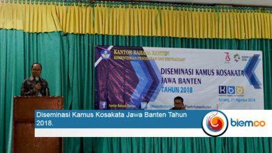 Diseminasi Kamus Jawa Banten