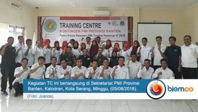 Photo of PMI Provinsi Banten Gelar TC untuk Temu Karya Relawan Nasional 2018