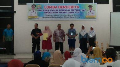 Photo of DPK Kota Serang Gelar Lomba Bercerita bagi Siswa-siswi SMP Tahun 2018