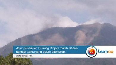 Photo of Terdampak Gempa, Gunung Rinjani Masuki Status Waspada