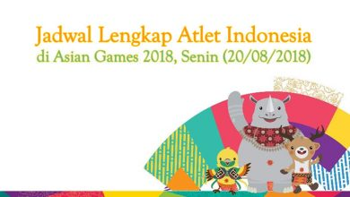 Jadwal Asian Games 2018