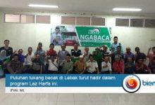 Photo of Laz Harfa Gelar Program 'Ngaji Bareng Abang Becak'