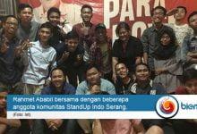 Photo of Singgahi Kota Serang, Tur Stand Up Comedy 'Paradox' Rahmet Ababil Pecah