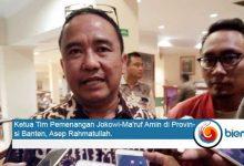 Photo of Asep Rahmatullah: Jokowi-MA Bisa Menang di Banten