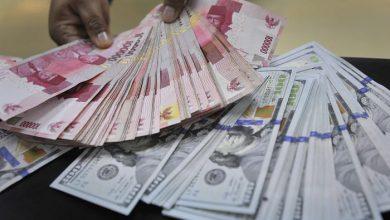 Photo of Rupiah Melemah Lagi, Rp14.823 per Dolar AS