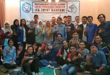 Photo of Secara Aklamasi, Acep Helmi terpilih sebagai Ketua Umum FA IMIKI Banten