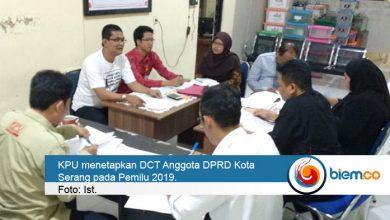 Photo of KPU Kota Serang Tetapkan Daftar Calon Tetap, Ini Rinciannya