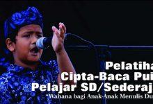 Photo of Ikuti Pelatihan Cipta-Baca Puisi Pelajar SD/Sederajat dari Gaksa