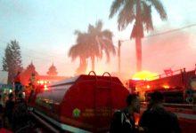 Photo of Kebakaran Gudang Dekat RSUD Dr. Drajat Prawiranegara Diduga karena Bakaran Sampah Warga