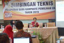 Photo of KPU Kota Serang Gelar Bimtek Pelaporan Dana Kampanye Pemilu 2019