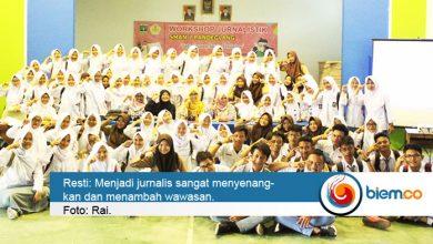 Photo of biem.co Berbagi Ilmu Jurnalistik di SMAN 2 Pandeglang