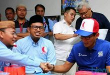 "Photo of Deklarasi ""Barisan Relawan Bro Sandi"", Adang: Millenial jangan Golput"