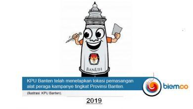 Photo of Ini Lokasi Pemasangan APK Pemilu 2019 Tingkat Kota Serang