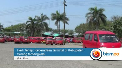 Photo of Karena Trayek, Dua Terminal di Kabupaten Serang Kurang Berfungsi
