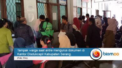 Photo of Kantor Disdukcapil Serang Diserbu Pelamar CPNS