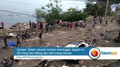 Korban Gempa dan Tsunami Palu Donggala