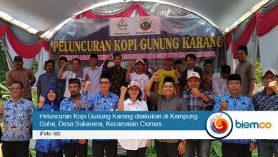 Photo of Kopi Gunung Karang Diluncurkan