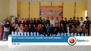 Photo of HMJ Hukum Ekonomi Syariah UIN SMH Banten Gelar Gebyar HES 2018
