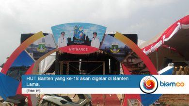Photo of Digelar Esok Hari, Persiapan HUT Banten Capai 60 Persen