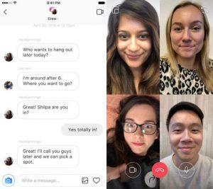 video call instagram