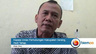 dinas perhubungan kabupaten serang