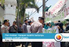 Photo of Seruduk Kejari, HMI Pandeglang Pertanyakan TP4D Ada Atau Mati Suri
