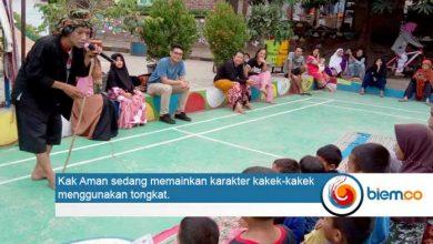 Photo of Peringati Hari Dongeng, Sanggar Wuni Kreasi Cilegon Road Show dari Kampung ke Kampung
