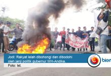 Photo of Demo Ricuh, Korlap Aksi: Rakyat Sudah Lelah Dibohongi