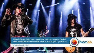 Photo of Guns N Roses Gelar Konser di Jakarta, Pengamanan Dilakukan 4 Ring