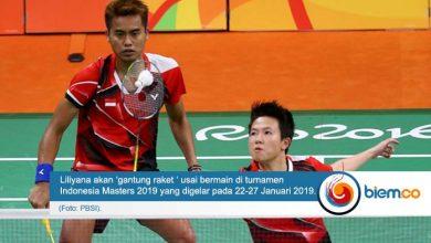 Photo of Liliyana Natsir Pastikan Gantung Raket Usai Indonesia Masters 2019