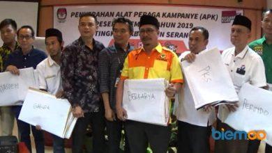 Photo of KPU Kabupaten Serang Bagikan Fasilitas APK ke Parpol