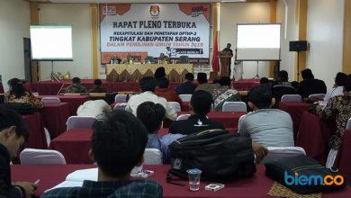 Photo of KPU Kabupaten Serang Tetapkan DPTHP 2 Sebanyak 1.172.949 Pemilih
