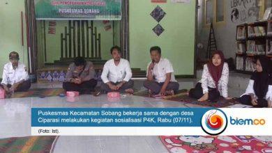 Photo of Puskesmas Kecamatan Sobang dan Desa Ciparasi Lakukan Sosialisasi P4K