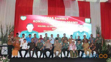 Photo of Korem 064 Maulana Yusuf Resmi Dinahkodai Komandan Baru