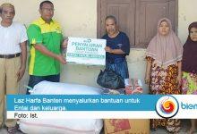 Photo of LAZ Harfa Banten Salurkan Bantuan pada Keluarga Korban Kebakaran
