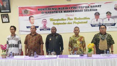 Photo of Ketum PWI Hadiri Konferensi Kerja PWI Papua Barat
