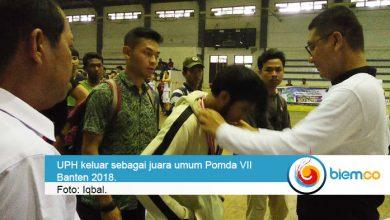 Photo of Juara Umum Pomda VII Banten 2018 Diraih Universitas Pelita Harapan