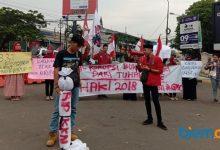 Photo of Gelar Aksi, Mahasiswa Desak Pemkot Cilegon Usut Tuntas Korupsi