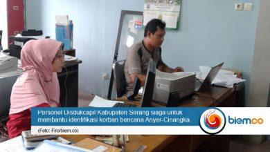Photo of Disdukcapil Kabupaten Serang Bantu Identifikasi Korban Tsunami Anyer