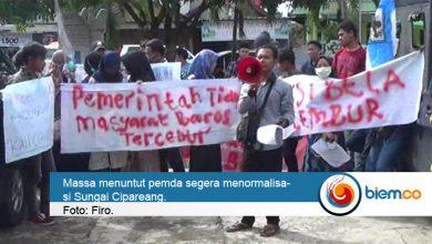 Photo of Baros Sering Banjir, Aliansi Pemuda Minta Pemerintah Normalisasi Sungai